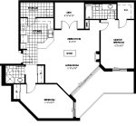 boysenberry 2 floor plan - Tollendale Village