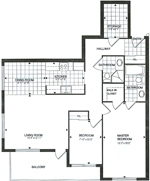 coralberry 1 floor plan - Tollendale Village
