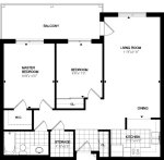cranberry 2 floor plan - Tollendale Village