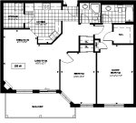 loganberry 3 floor plan - Tollendale Village