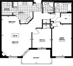 loganberry 4 floor plan - Tollendale Village