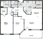 loganberry floor plan - Tollendale Village
