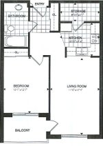 willow floor plan - Tollendale Village